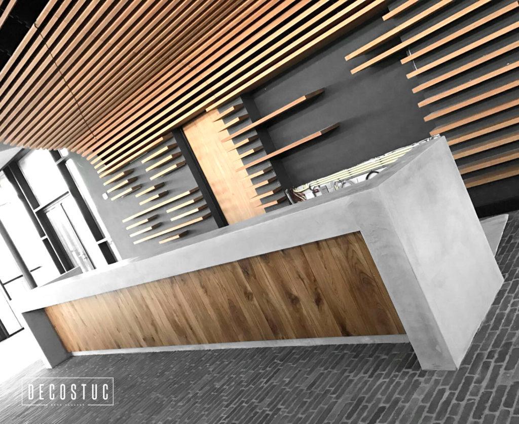 decostuc tilburg | decoratief stucwerk | beal mortex | beton look | grijs